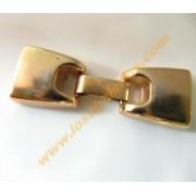 Cierre gancho dorado 45x13mm interior 10mm