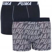 Puma 2PACK pánské boxerky Puma vícebarevné (591004001 235) L