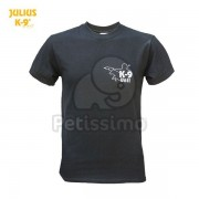 Julius-K9 UNIT tricou, negru XXL (12TK9-US-2XL)