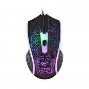 Mouse Gaming Havit HV-MS736, optic, 7culori Led, 4 Butoane, 1200 DPI, cablu USB