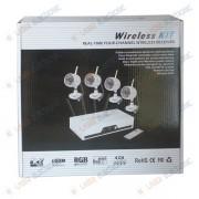 Kit Trasmissione 2.4Ghz con 4 Trasmettitori Wireless