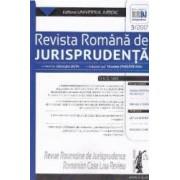 Revista romana de jurisprudenta 3 din 2017 - Gheorghe Buta Nicoleta Tandareanu