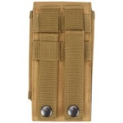 DEVZA Tactical MOLLE Smartphone Holster, Universal Army Mobile Phone Belt Pouch EDC Security Pack Waist mobile pouch(Khaki)