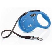 Flexi New Classic Smycz taśma S 5m niebieska [FL-3211]