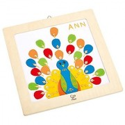 Hape Proud Peacock Embroidery Kit Kid's Arts and Crafts