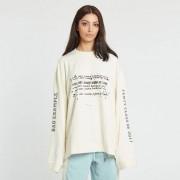 Puma ls graphic crew neck t-shirt Vanilla Ice