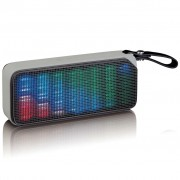 Lenco Bluetooth Stereo Speaker Disco Light BT-191 Black