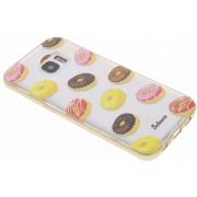 Foodies Donut TPU hoesje voor de Samsung Galaxy S7 Edge