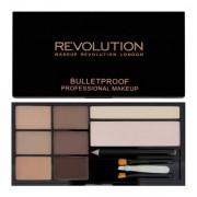 Makeup Revolution Ultra Brow Fair To Medium Paleta Do Stylizacji Brwi