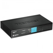 Switch POE 8 puertos Trendnet fast ethernet TPE-S44, 10/100MBPS, no administrable