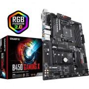 Placa de baza GIGABYTE B450 Gaming X Socket AM4, 4 x DDR4, RGB Fusion, (rev. 1.0)
