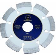 Disc diamantat Tudee 125X22.2mm debitare beton dur armat