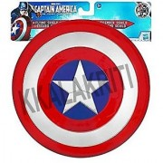 Shield Captain America Or Armour Plastic Red Color Unbreakable