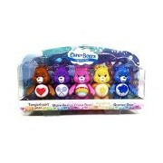 Care Bears, Figurine Set [Tenderheart, Share, Cheer, Funshine, and Grumpy Bear], 5-Pack, 3 Inches