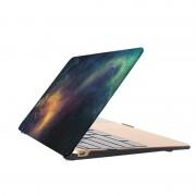 MacBook Pro Retina 12 inch Sterrenhemel patroon beschermende Cover (groen)