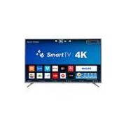 Smart TV LED 50 Philips 50PUG6513/78 Ultra HD 4k com Conversor Digital 3 HDMI 2 USB Wi-Fi 60hz - Prata