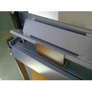 Zaginarka do blachy 1 mm, 630 - wysokość podnoszenia 45 mm