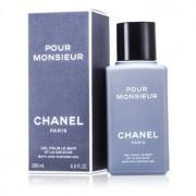 Pour Monsieur Bath & Shower Gel 200ml/6.7oz Pour Monsieur Гел за Вана и Душ