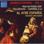Al Ayre Espaol - Barroco Espanol Vol.1 (0886975755523) (1 CD)