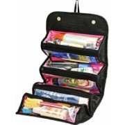 Antique Buyer Roll-n-Go Jewellery & Cosmetics Organiser & Storage Travel Bag Travel Toiletry Kit Travel Toiletry Kit (Multicolor) Travel Toiletry Kit(Black)