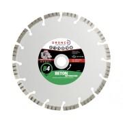Disc diamantat segmentat Dronco Superior B4 Universal Ø115x2x22,23 mm