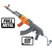 Arma Airsoft AK47 Full metal - Blow Black