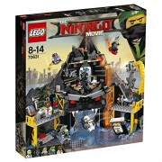 LEGO 70631 Ninjago Movie Garmadon's Volcano Lair Building Kit (521 Pieces)