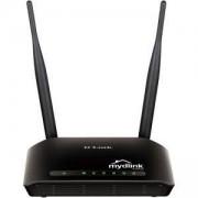 Безжичен рутер Wireless N Cloud Router w/ 4 Port 10/100 Switch маршрутизатор 300 мегабитов с 5 децибелови антени, DIR-605L/HU