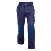Dassy BOSTON Tweekleurige Werkbroek met kniestukken [200426] - Marineblauw/Korenblauw - Size: NL:58 BE:52