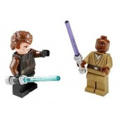 Anakin Skywalker & Mace Windu (Loose) Lego Star Wars Clone Wars Figures