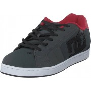 DC Shoes Net Grey/dark Red, Skor, Sneakers & Sportskor, Löparskor, Grå, Herr, 44