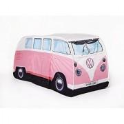 Vw Volkswagen T1 Camper Van Kids Pop-Up Play Tent - Pink - Multiple Color Options Available