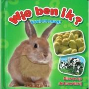 Boek Wie Ben Ik? Dieren op de Boerderij