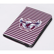 NRL Licensed Manly Warringah Sea Eagles PU Leather Case for iPad Mini 1 2 3
