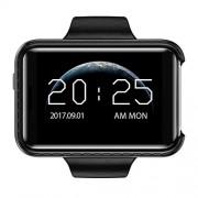 Heraihe Reloj Inteligente i5S de 2,2 Pulgadas Pantalla Grande en Color Registro de Video Podómetro Deportivo Reloj de Pulsera de Silicona Monitor de Salud