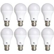 Alpha Pro 12 Watt LED Bulb Pack of 8 (Warranty 6 Months)