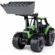 Tractor Lena cu cupa functionala plastic pentru copii 45 cm