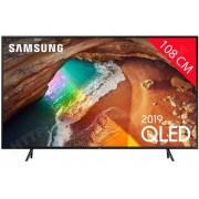 SAMSUNG TV QLED 4K 108 cm QE43Q60R - Mode Ambiant - Smart TV