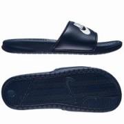Nike Badslippers Benassi JDI Navy/Wit
