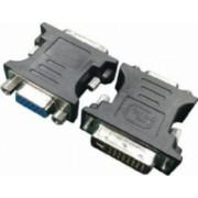 Adaptor Gembird DVI-I la VGA tata-mama