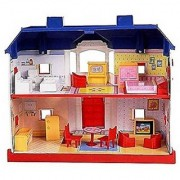 SKY ROULLET 24 Pieces Doll house Set