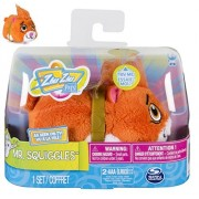 NEW! Zhu Zhu Pets 4-inch Furry Hamster Toy - Mr.SQUIGGLES - Go on Adventures with Mr. Squiggles! Push the Button on His Back and Mr. Squiggles will take off Scurrying Around Your Room