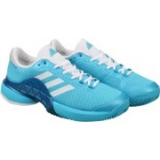 ADIDAS BARRICADE 2017 Tennis Shoes For Men(Blue)