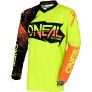 Oneal O´Neal Element Burnout Jersey Negro/Naranja XXL