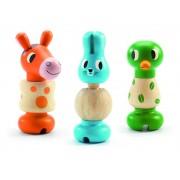 Jucărie motorică Animale cu șurub Rondanimo Djeco