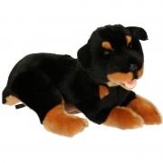 Geen Pluche knuffel Rottweiler hond 35 cm