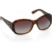 GUCCI Over-sized Sunglasses(Brown)