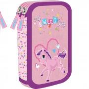 Dupla pernica sa dva zipa - Sweet Pony 160655