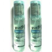 Multipurpose cleaning GEL spray kit with Microfibre cloth-100ml each(Ocean Breeze& Fresh Root)