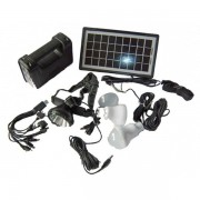 Sistem solar cu USB si lanterna GD 8007